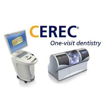 CEREC one visit dentistry system
